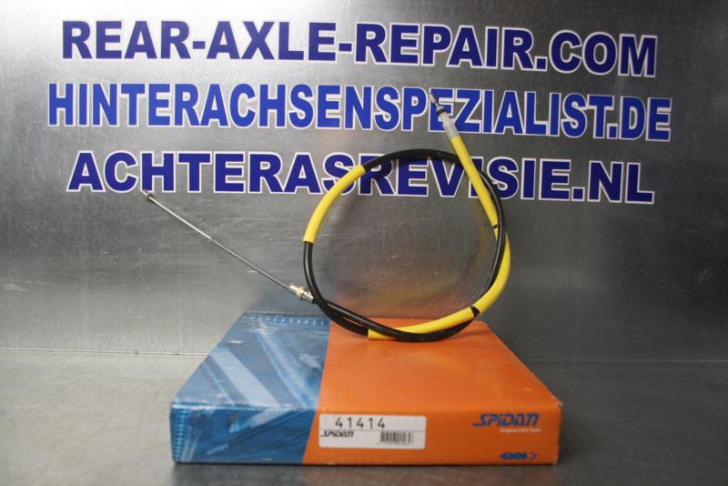 Cable for hand brake, Peugeot 205, brand Spidan, 41414