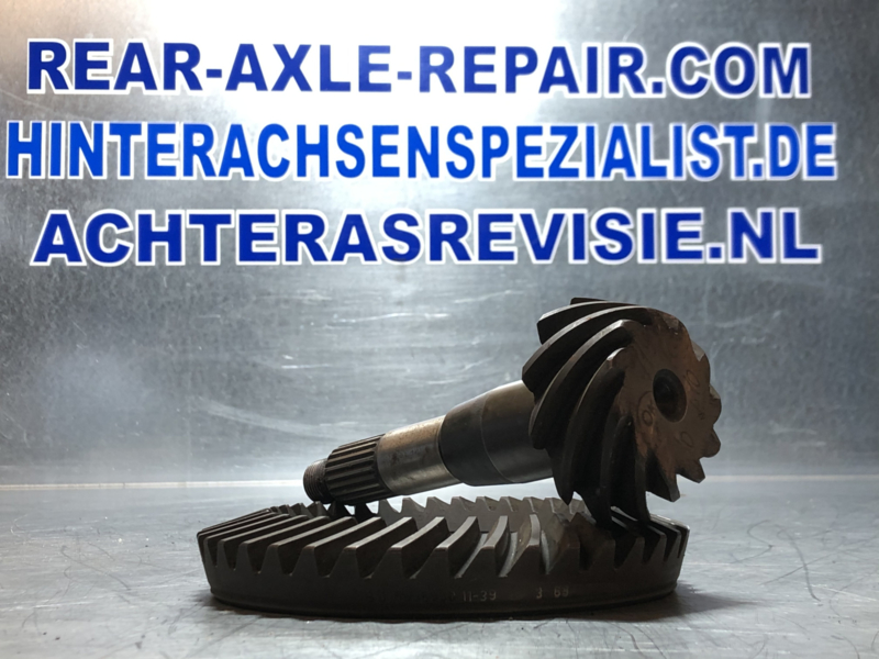 Crown and pinion wheel set, Opel Rekord C