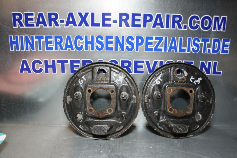 Remankerplaat Opel GT, rechts en links (1e type).