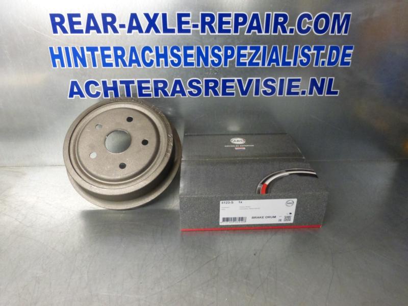Bremstrommel 5 Loch, Neu,  Opel, 5x120