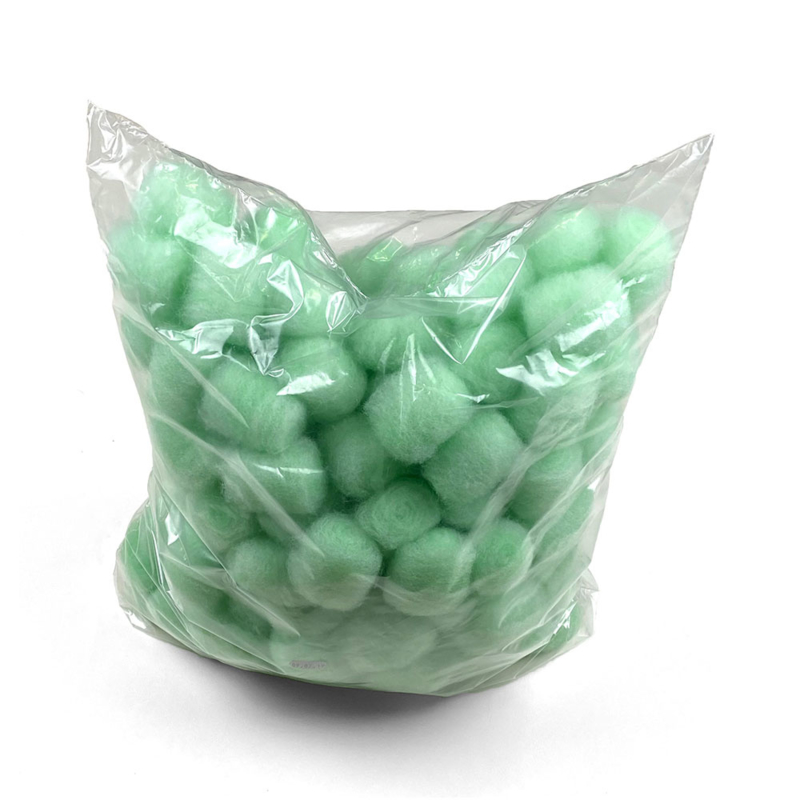 Filterbollen - 300 gram (± 125 stuks)