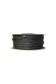 kachelkoord zwart 10 mm per meter