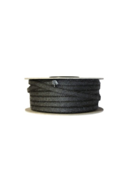 Kachelkoord 6 mm Zwart