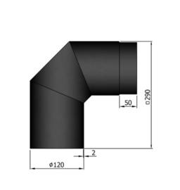 Ew 120 mm 90 Gradenbocht