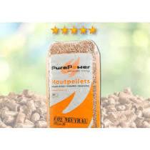 Pure Power ENplus A1 naaldhout 5-sterren houtpellets 15 kg (per pallet 33 zakken)