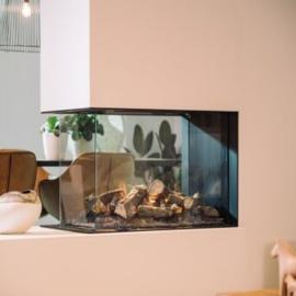 Elektrische haard van Faber e-MatriX 800/500 roomdivider