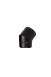 Ø130 mm 45 Gradenbocht 2 mm zwart