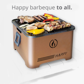 De Happy pellet Gril BBQ