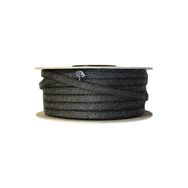 kachelkoord 8 mm zwart per meter
