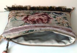 Festival bag vintage style with roses