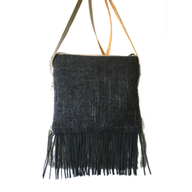 Festival purse Navajo style with bull