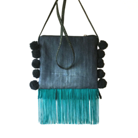 Festival bag Mexican style with fringes