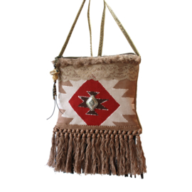 Festival purse Navajo style with concho