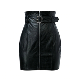 Wetlook skirt