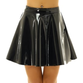 Lack flare skirt