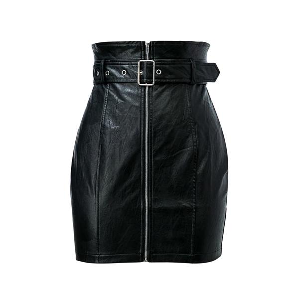 Wetlook skirt