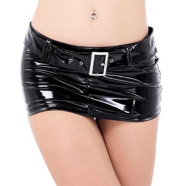 Lack mini skirt