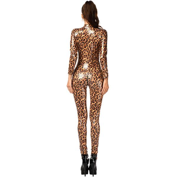 Lack leopard jumpsuit