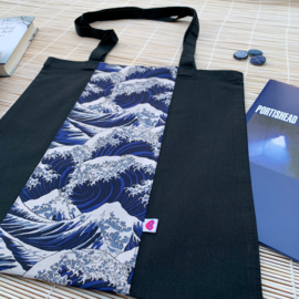 Linnen tas met The Great Wave