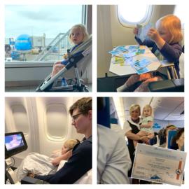 Met een peuter naar Japan - de vlucht