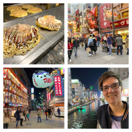 Osaka food city