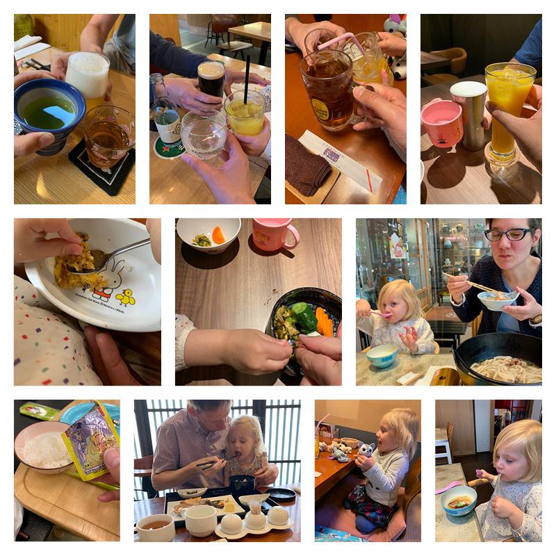 Met een peuter naar Japan - het eten