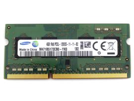 DDR3 geheugen 4GB Module 12800S-11-11