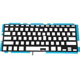 """Keyboard backlight foil horizontale enter toets nieuw MacBook Pro 13"""" A1278"""