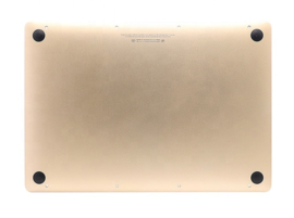 "Bodemplaat met accu goud MacBook Air 12"" Retina A1534"