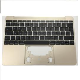 """Behuizing met keyboard goud MacBook Air 12"""" Retina A1534"""