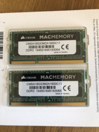 DDR3L geheugen 8 GB 1600MHz CL11