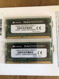 DDR3L geheugen 8 GB 1600MHz CL11