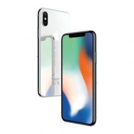 iPhone X Silver 64GB B Grade