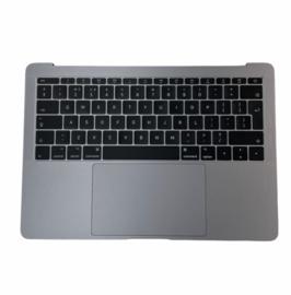 "Topcover space grey met accu en trackpad MacBook Pro 13"" Retina A1708"