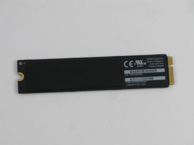 """SSD 256 GB 655-1665B MacBook Air 13"""" A1466"""