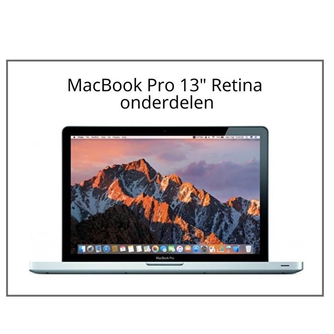 MacBook Pro 13 inch Retina onderdelen