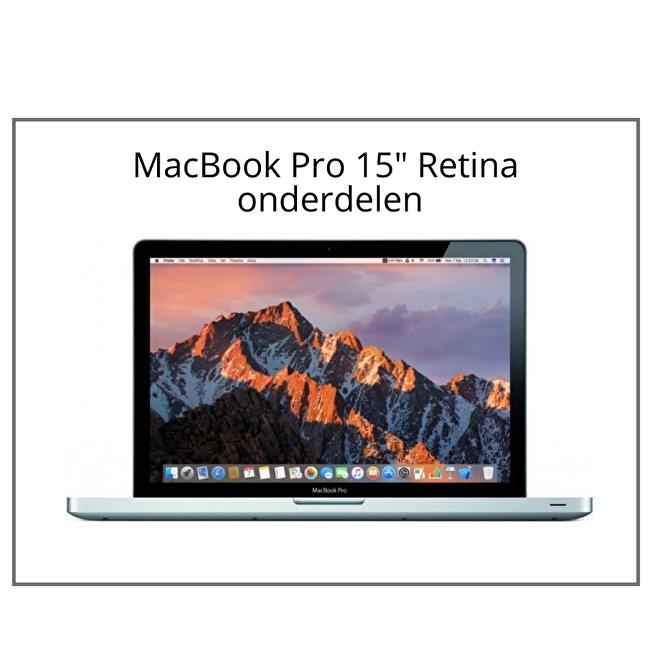 MacBook Pro 15 inch Retina onderdelen