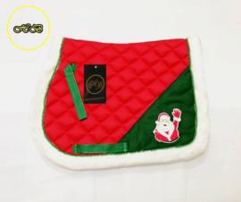 HB kerst zadel dek Santa Claus