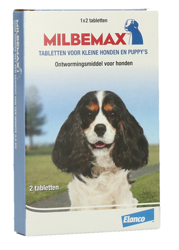 Milbemax tabletten Puppy/kleine hond