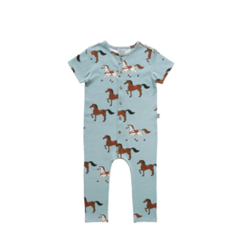 LONG LEG PLAYSUIT // HORSES