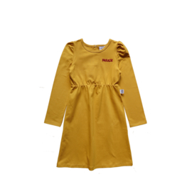 PUFFED DRESS // YELLOW