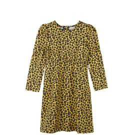 PUFFED DRESS // LEOPARD