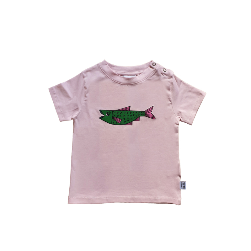 T - SHIRT //  LILA FISH FP