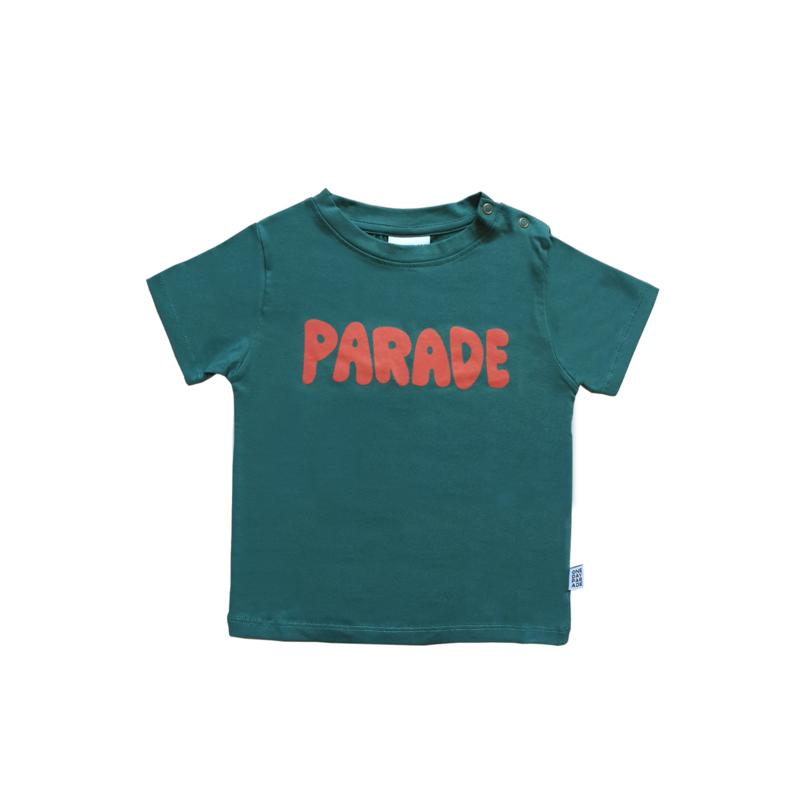 T - SHIRT // GREEN PARADE FP