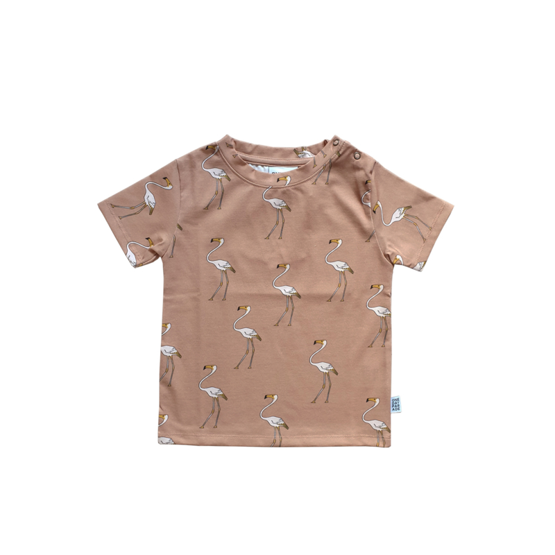 T - SHIRT // FLAMINGO