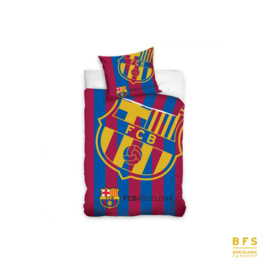 FC Barcelona - Dekbedovertrek logo goud