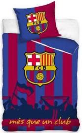 FC Barcelona - Dekbedovertrek mes que un club 140x200 cm