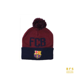 FC Barcelona - Muts rood pompom junior