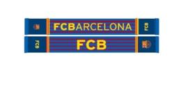 FC Barcelona - Sjaal rood/blauw gestreept