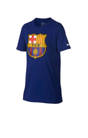 FC Barcelona - T-shirt kids Deep Royal Blue logo Nike